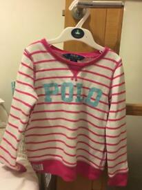 Girls Ralph Lauren Jumper Age 5