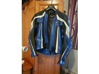 MTECH Racing Leather Two Piece Suit
