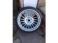 "3sdm 0.04 19"" Alloys & Tyres 5x120 BMW VW T5/6 staggered concave"