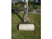 Antique Stone Garden Roller ~~ In Working Condition