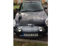 Mini Cooper cabriolet 2009 with Bluetooth . Air conditioning, CD player and USB port , MOT Jan. 18