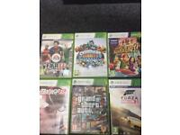 6 Xbox360 games for £20!
