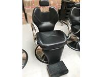 NEW HEAVY DUTY BLACK HADI® UK BARBER CHAIR ,CASH ON COLLECTION ONLY new