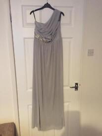 Grey Maxi Dress size small