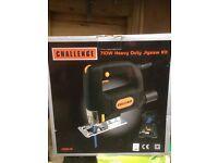 """""""Challenge"""" 710w Heavy Duty Jig Saw kit"""