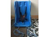 Special needs full support teenage swing seat with deluxe harness