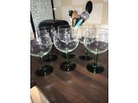 Tanqueray Coppa Wine Glasses x6