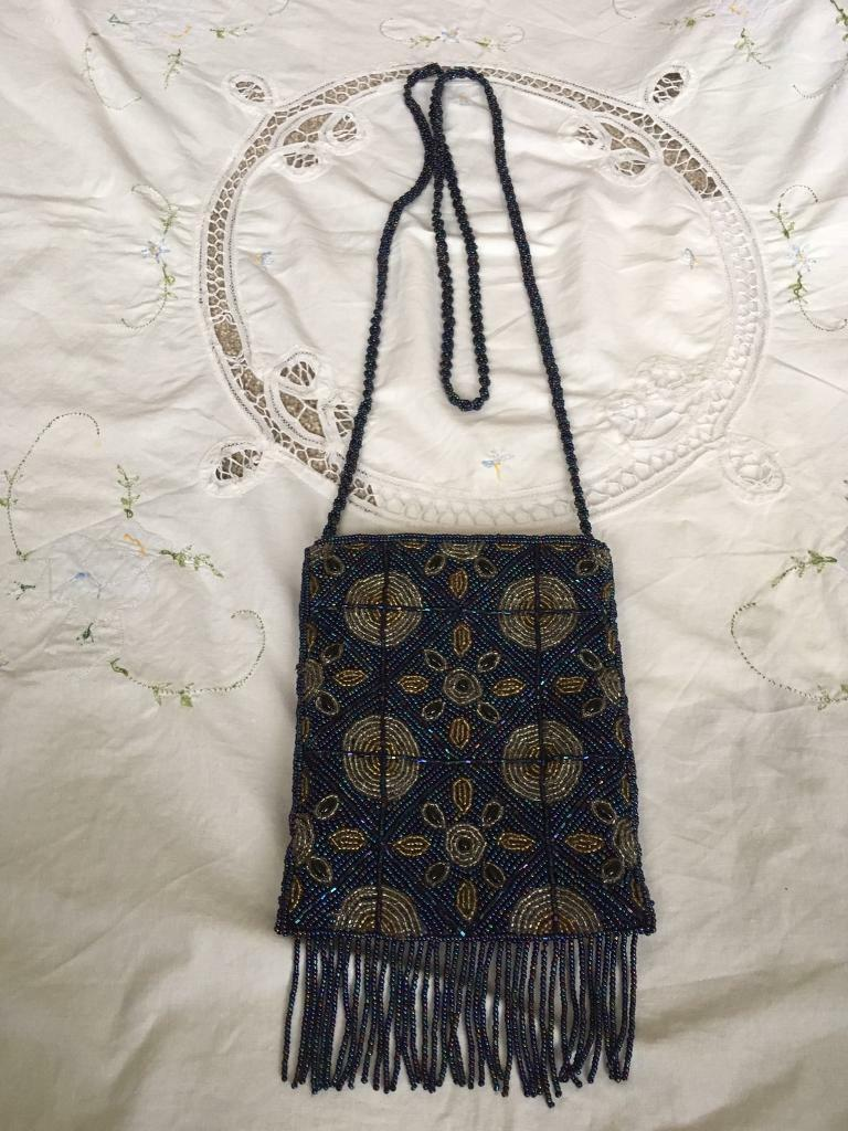 Lady bags with hand made beads