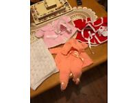 Handmade knitted wear for dolls or babies