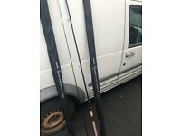 2 BRAND NEW SHIMANO VENGANCE BARBEL RODS