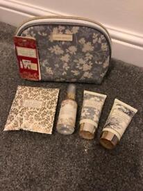 laura ashley toiletries in wash bag