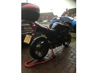 Yamaha XJ 600 4300 miles excellent condition. Commuter tourer sports economic heated grips top box