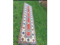 Handmade Kazak Rug (Runner)