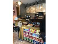 Barista for busy Cafe