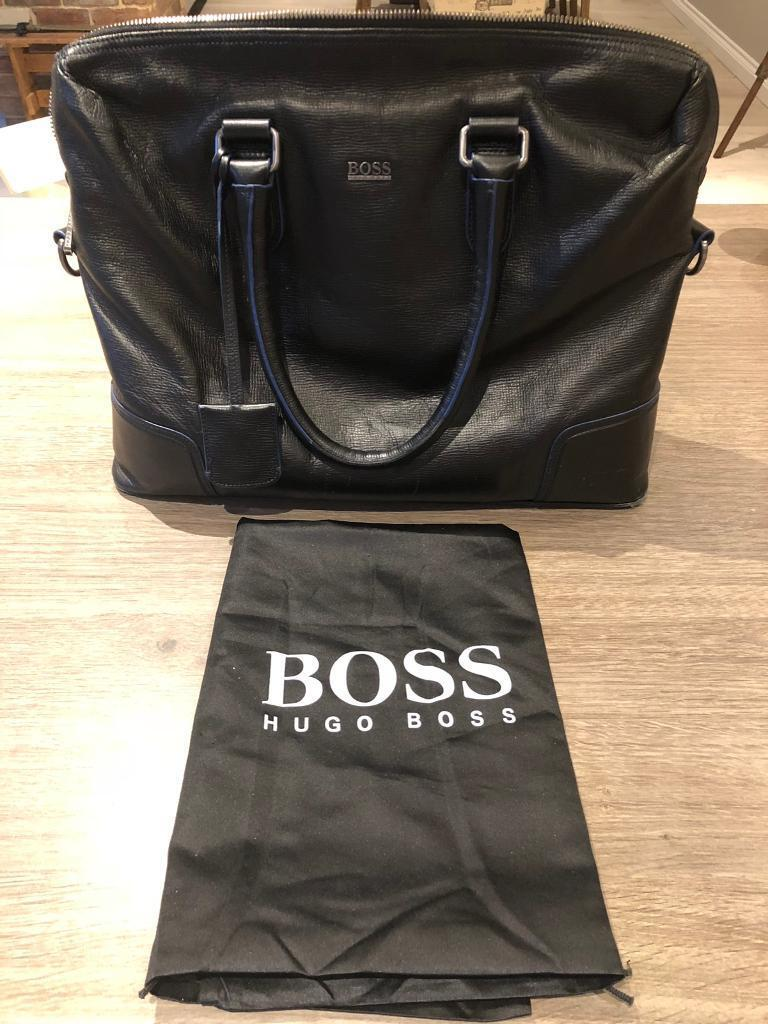 5b1339d381 Hugo Boss men's leather briefcase / laptop bag | in Newcastle, Tyne ...