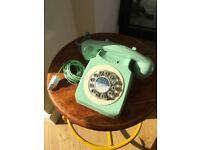 Retro Wild & Wolf Dial Phone
