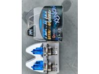 H4 Xenon HID blue car bulbs 7500K reduced to only £5