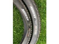 "Maxxis Ardent 27.5"" x 2.4 EXO TR mountain bike tyres tired"