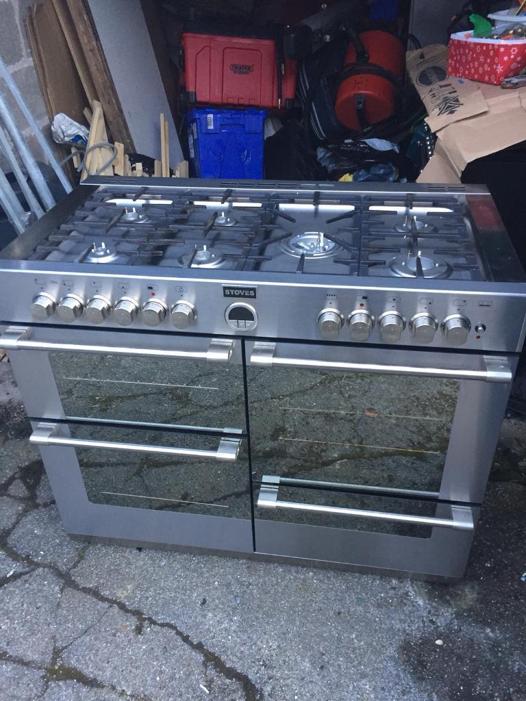 Range gas duel fuel cooker