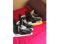 Ice skates ccm 4.5 and 5