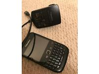 Blackberry no battery but with charger