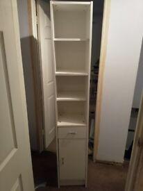 White Shelf Unit