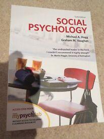 Social Psychology Textbook (Hogg & Vaughan)