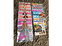 Slimming world/ healthy eating magazines