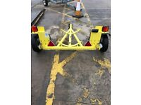 trailer for transporting oil drum etc
