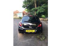 Vauxhall Corsa BLACK 1.2 SXi - 3 door - very low mileage