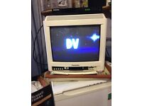 Old type Portable TV £4 for quick sale, Great for caravan shed etc