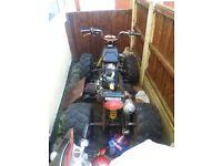 Quad bike 250cc spares or repairs