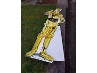 2 Star Wars Figure Cut Outs