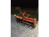 Rotovator for compact tractor
