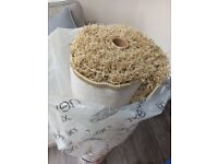 Brand new Next beige comfy twist rug (120cm x 170cm)