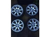 "BBS RW 5 x 100 17"" polo fabia golf Ibiza Leon wheels"