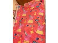 Peppa pig bedding, lampshade & hooded towel