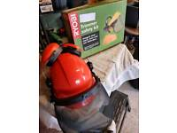 Chainsaw Safety Combination Helmet and Brushcutter Safety Kit.