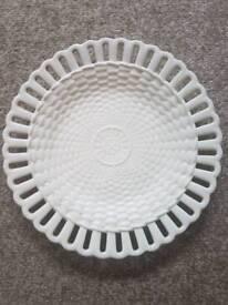 Wedgwood Reticulated Basketweave Plate