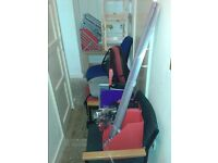 office chairs & accessories joblot