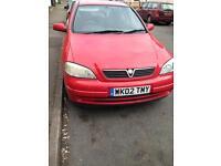 Vauxhall Astra 1.7 diesel spares or repairs