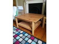 Coffe table Hemnes Solid Wood IKEA