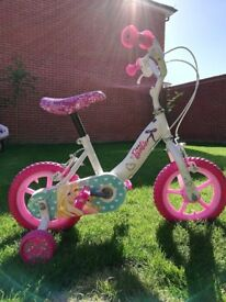 Official Barbie bicycle with stabilisers (2yr old up) - Immaculate condition £20