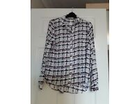 Ladies long sleeve blouse size 10