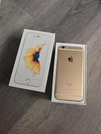 Mint !! iPhone 6s gold 128gb (o2)