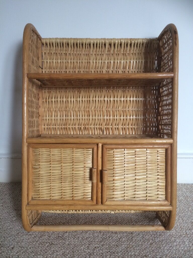 Wicker Bathroom Cabinet Wicker Bathroom Cabinet Shelves With Cupboard Ready To Hang