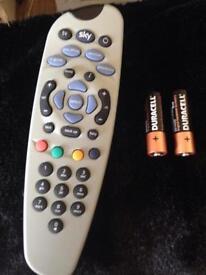 Sky remote control 101