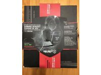 Call Of Duty Black Ops Special Edition Dolby Surround Sound Gaming Headphones for XBOX or PS4.