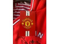 Manchester United baby snowsuit