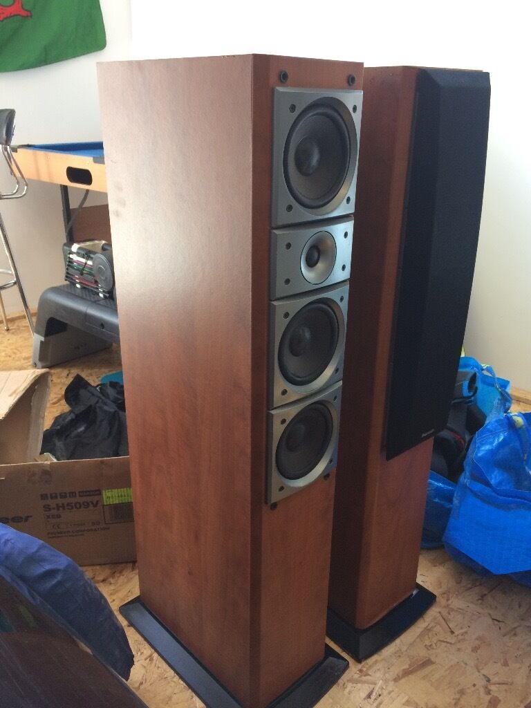 Lovely Pioneer S H510v Floor Standing Speakers Reluctant